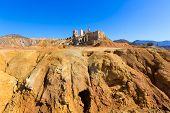 Mazarron Murcia deserted old mine in Spain