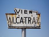 View Alcatraz Sign