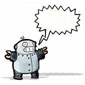 cartoon little robot