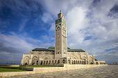 Casablanca, Morroco at Hassan II Mosque.