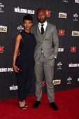 LOS ANGELES - OCT 2:  Sonequa Martin-Green, Kenric Green at the