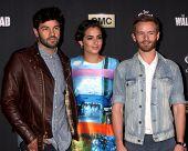 LOS ANGELES - OCT 2:  Jordan Masterson, Alanna Masterson, Chris Masterson at the