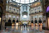 Vittorio Emanuele Gallery In Milan