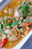Stir Fried Clams
