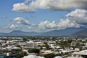 Australia aerial view of Cairns
