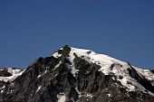 peak of Ortler mountain