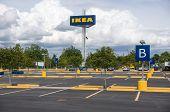 Ikea Parking Lot