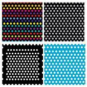 Set Of 4 Dots