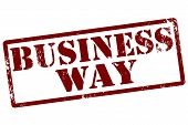 Business Way Stamp