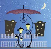Two enamored lanterns