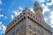 Palazzo Vecchio In Piazza Della Signoria In Florence