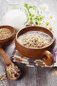 Buckwheat Porridge With Milk
