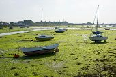 Low Tide At Emsworth. England