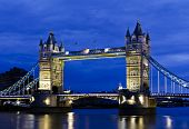 Tower Bridge at twilight