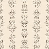 Thin line damask pattern