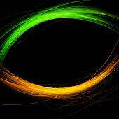 Fusion Abstract Background Flare Speed Line