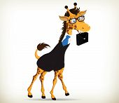 Fun Business Giraffe