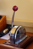 picture of levers  - Throttle yacht lever chrome ship yacht control - JPG
