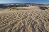 Ripples in sand dunes at Death Valley