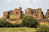Kenilworth Castle, Kenilworth, Warwickshire, England, Uk,