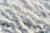 Rough Texture Bumpy Snow