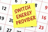 Постер, плакат: Switch Energy Provider