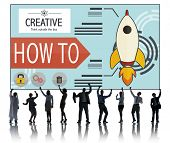 Creative Innovation Development Growth Success Plan Concept