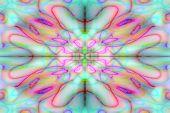 Colourful Drawn Pattern