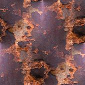 old texture iron red background  with rust and scuffed