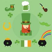 picture of irish flag  - Happy St - JPG