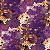 seamless texture purple of rusty colored rough