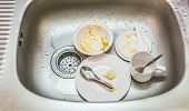 picture of dirty  - Kitchen conceptual image - JPG