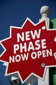 New Phase Open