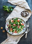 image of spring lambs  - Spring salad with lamb - JPG