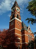 stock photo of marblehead  - original abbot hall in historical marblehead massachusetts - JPG