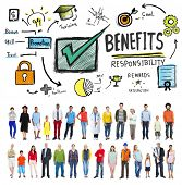 picture of responsible  - Benefits Responsibility Rewards Goal Skill Satisfaction Concept - JPG