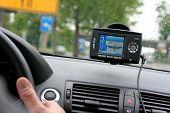 Gps do carro, sistema de navegação