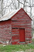 Picture of storage shed.