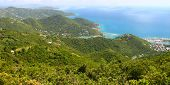 Landscape Of Tortola - BVI