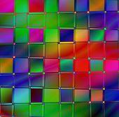 Rainbow Checkerboard