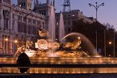 Plaza De La Cibeles Fountain