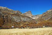 Autumn at mountains