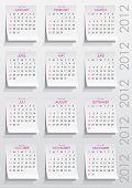 calendar 2012 year
