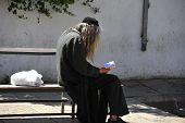 Jewish Man Praying.