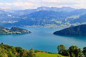 Swiss Alpine Landscape (vierwaldstättersee)