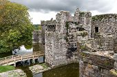 image of anglesey  - Beaumaris Castle in Anglesey - JPG