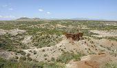 Olduvai Gorge In Africa