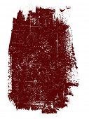 Grunge elements - Large Single Square -  Highly Detailed vector grunge element