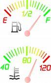 Vehicle Gauge Dials