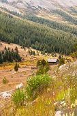 Colorado Hiking Path And Countryside